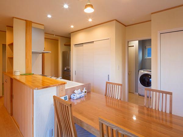 柴田郡柴田町H様邸 長期優良住宅・性能向上計画認定取得の付加断熱ツーバイフォー工法